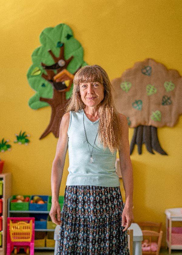 Učitelka Šárka Lacmanová