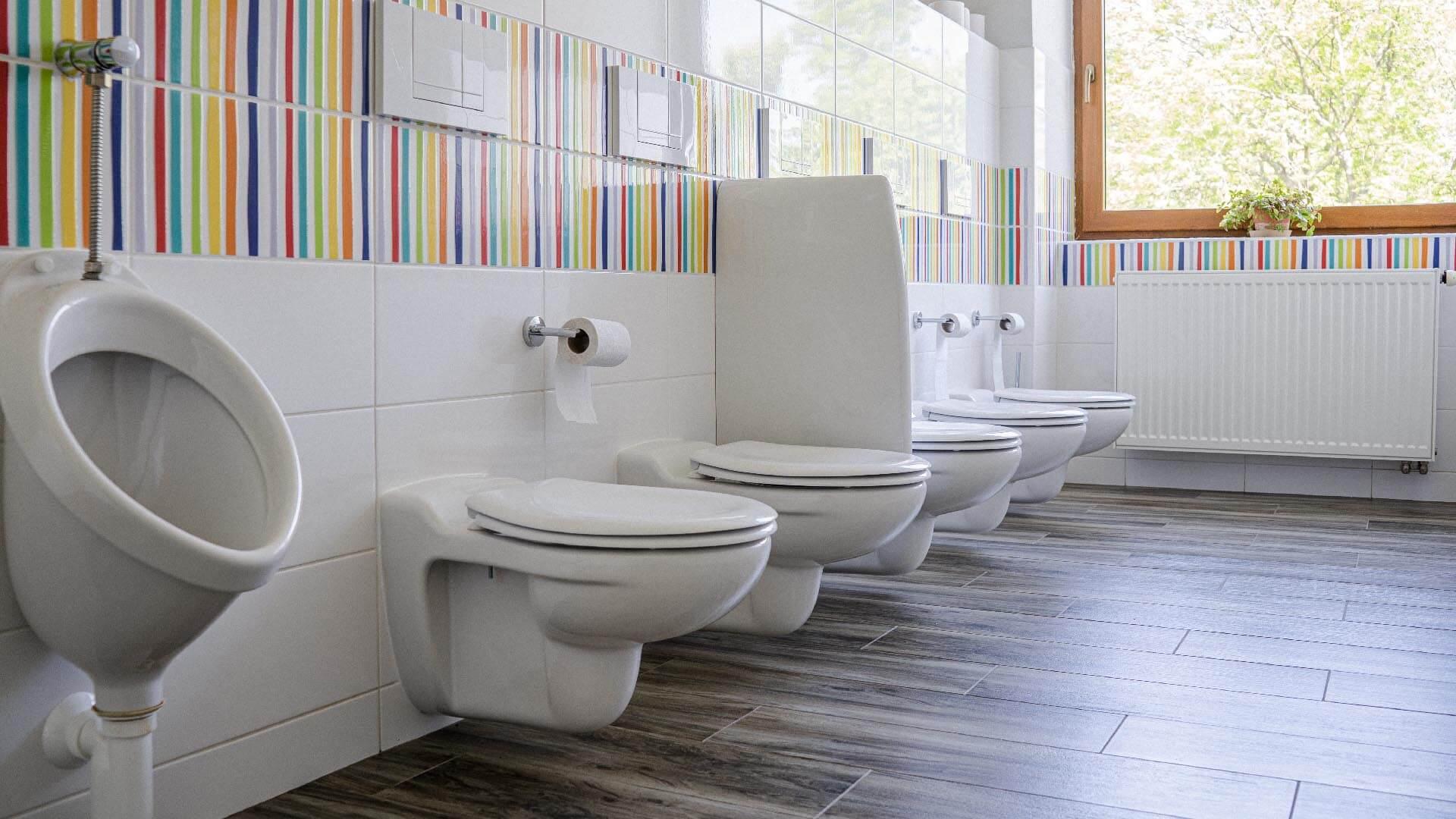 Záchody mateřské školky