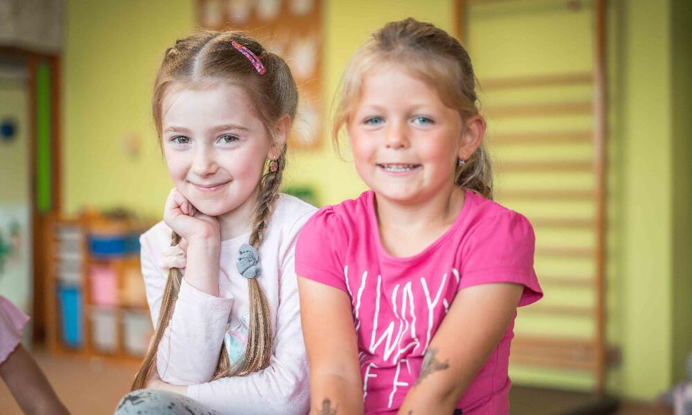 Dvě holčičky